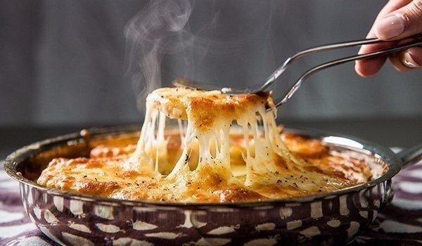 Super pečené syrové zemiaky