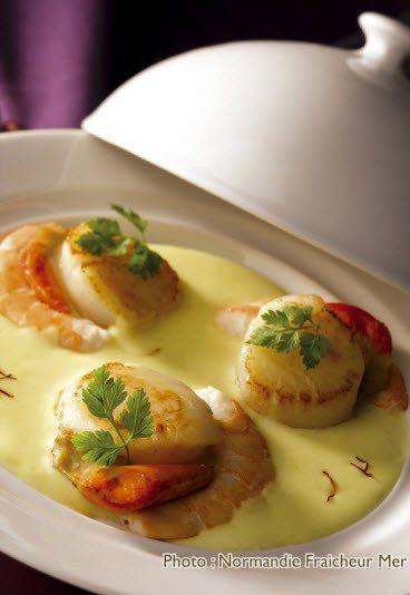 1000 id es propos de recettes de coquilles saint - Cuisiner noix saint jacques ...