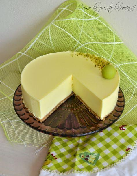 Tarta rapida de limón (con y sin Thermomix)