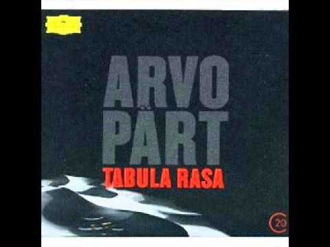 """""""A day can press down all human things, and a day can raise them up.""""  -Athena to Odysseus  Arvo Pärt - Tabula rasa"""