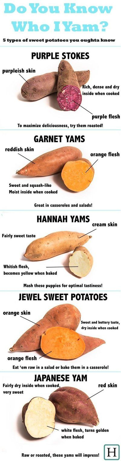 5 Kinds Of Sweet Potatoes To Eat Right Now