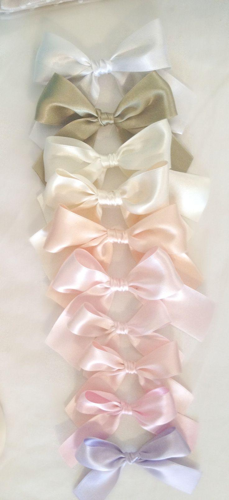 ιδεες για κορδέλες φιόγκοι σε χρώματα pastel! love it!!