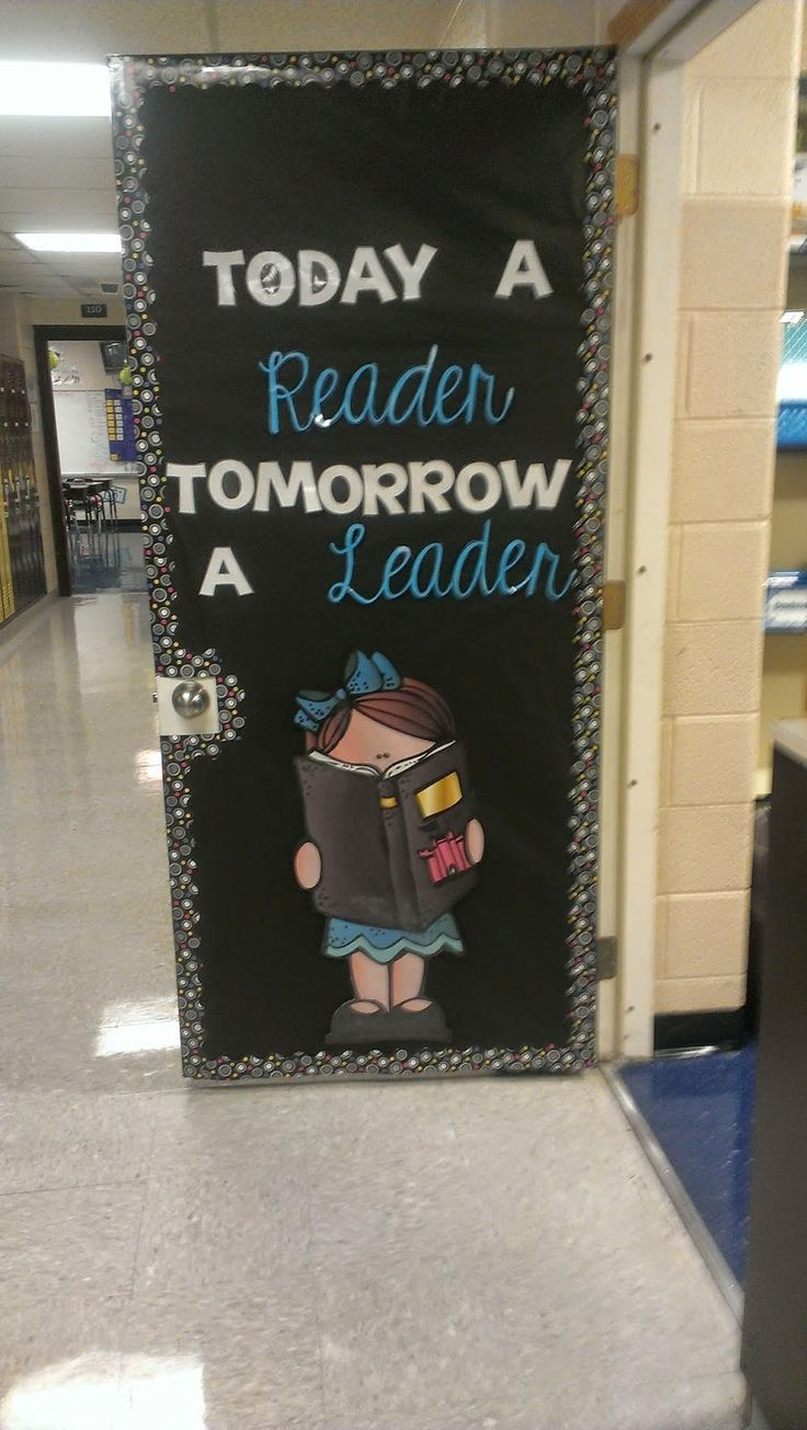 My Classroom Door! (Perhaps more pictures to come at a later date!)For those of you that weren't aware, I changed jobs this year. I am now a Title One Reading and Math Teacher for grades K-3. It is d