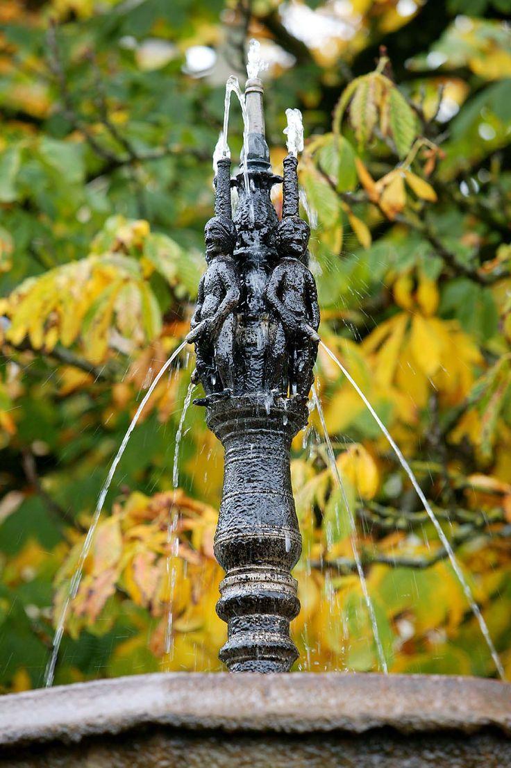 La #Fontaine des Pisseurs à #Lacaune les Bains http://www.tourisme-montsdelacaune.com