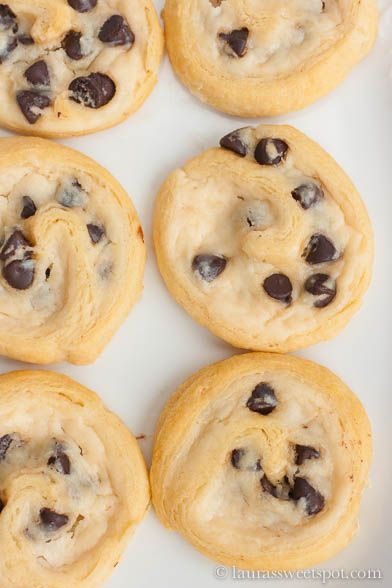 Chocolate Chip Cream Cheese Cookies- SO easy and delicious!