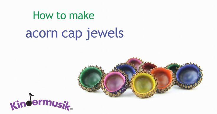 Acorn Cap Jewels: Kids' Activity Kindermusik® International  https://youtu.be/l3XqXpR6qa8?list=PL63D85DB34934C068