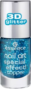 nail art smalto unghie top coat ad effetti speciali 10 glorious aquarius - essence cosmetics