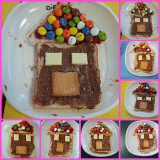 EDUCACIÓN INFANTIL: Taller de cocina:La casita de chocolate.
