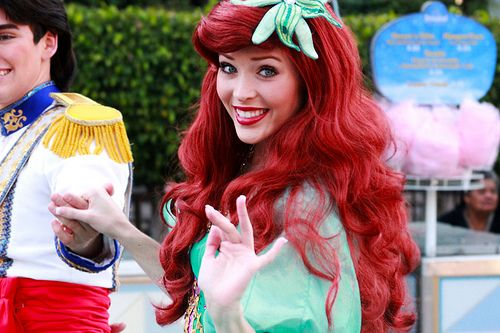 Disney Land little mermaid :)