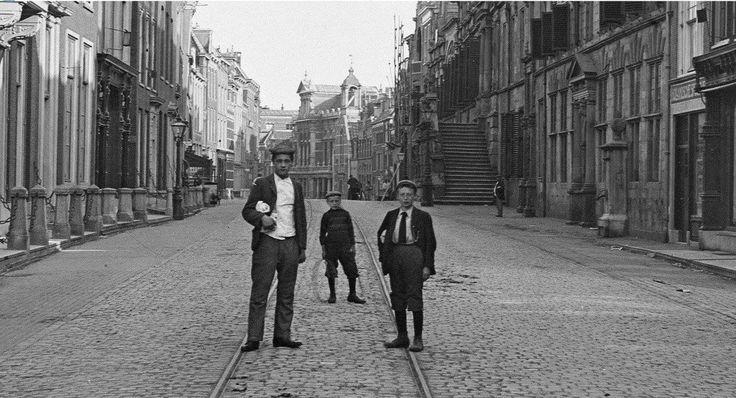 Breestraat Leiden (jaartal: 1900 tot 1910) - Foto's SERC