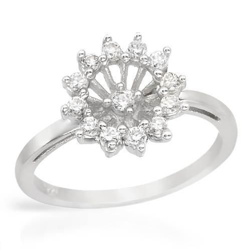 GORGEOUS Ring With Cubic Zirconia - Size 6