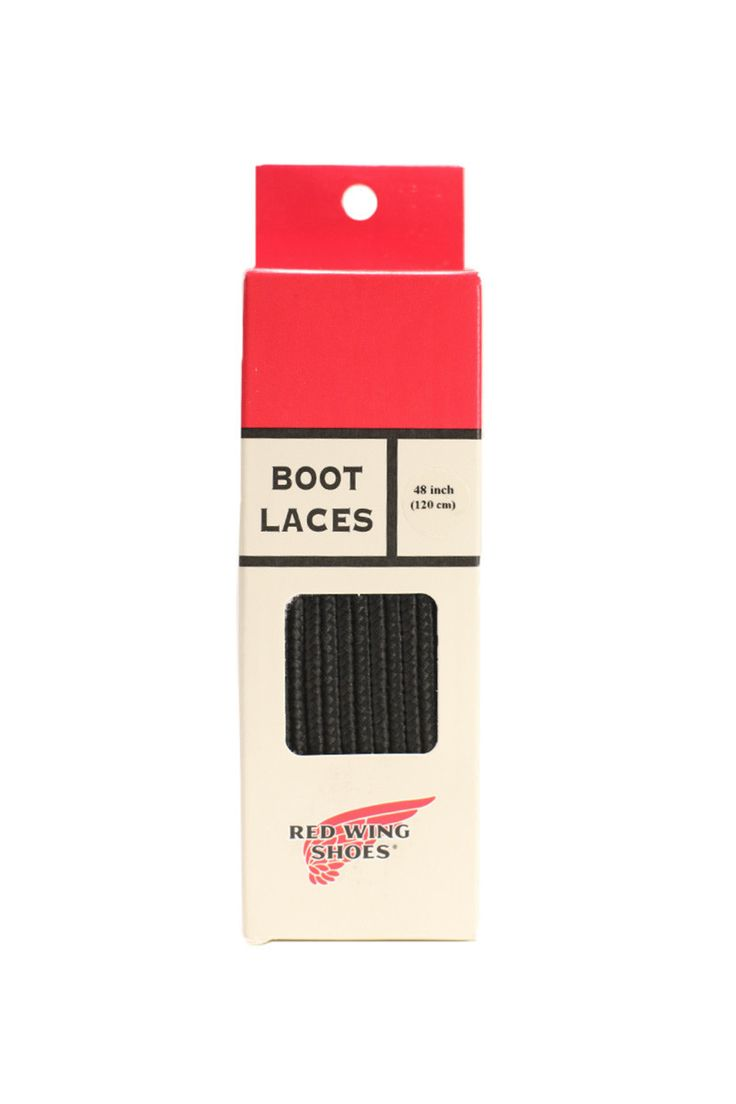 "Red Wing Shoes® - 48"" Black Taslan Lace (97157)"