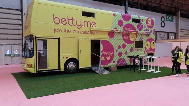 #arttragrass installs for Betty.me at the NEC Birmingham for Fashion Roadshow Event. #eventprofs