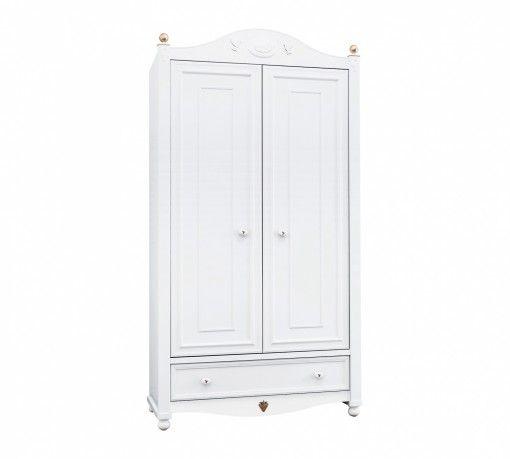 Softy 2 ajtós Szekrény