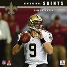 New Orleans Saints 2014 Wall Calendar     CALENDARS.COM