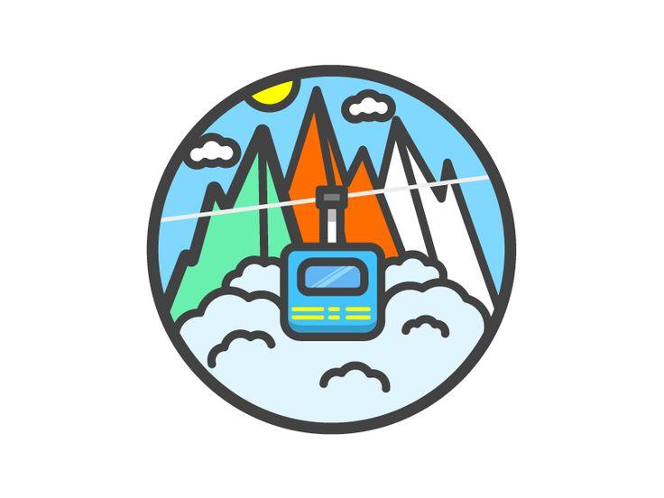 Cable Car by Elliot Belchatovski