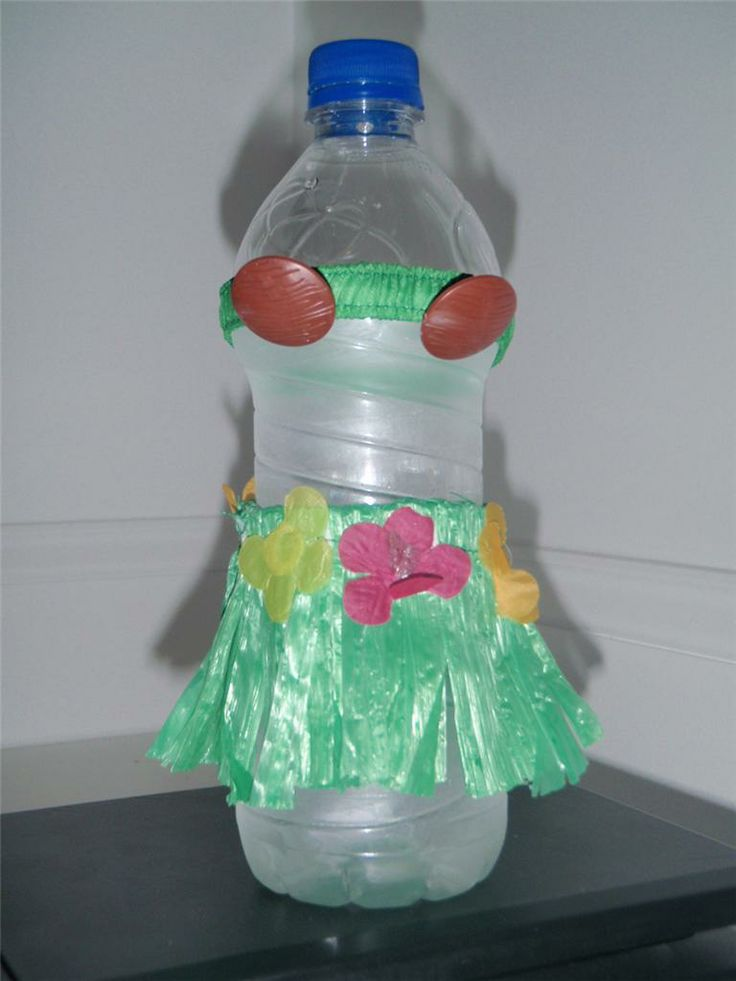 Luau Water Bottles This Listing Is For Six Sets Of Hula