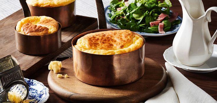 Luftiges Käse-Soufflé