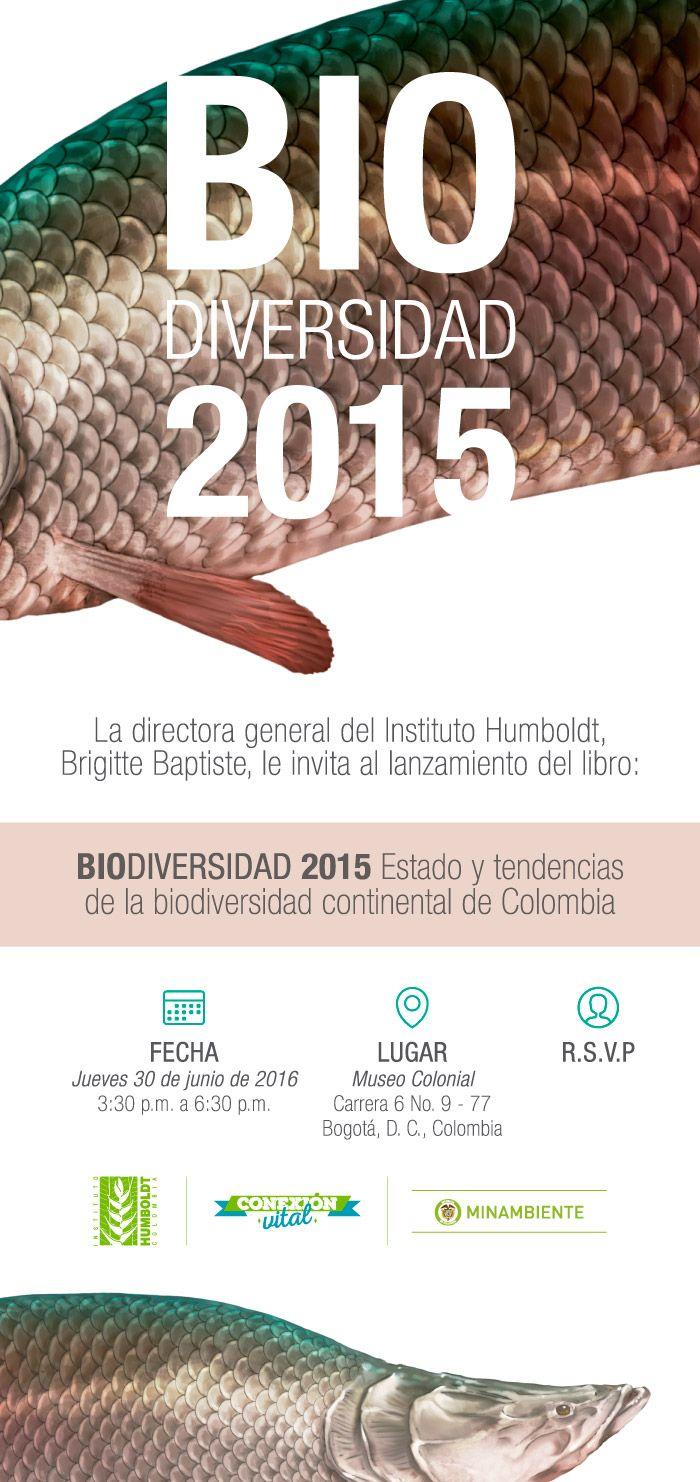"""Página web del proyecto""""Estado y tendencias de la biodiversidad de Colombia"""" del Instituto Humboldt"""