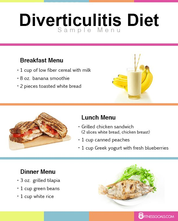 Foods Diverticulosis Eat