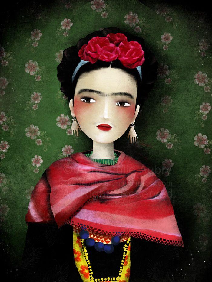 frida-kahlo  http://www.annejulie-art.com/blog/?p=2565#