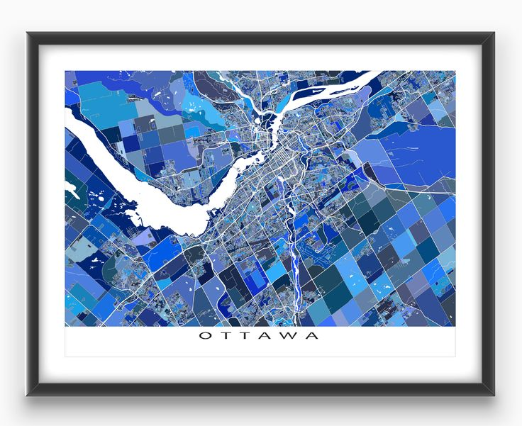 The 25 best ottawa map ideas on pinterest ottawa tattoo wall ottawa ontario canada map art print ottawa map gumiabroncs Gallery