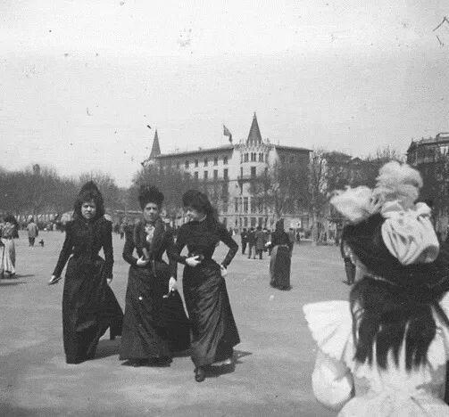 Plaça Catalunya. 1900