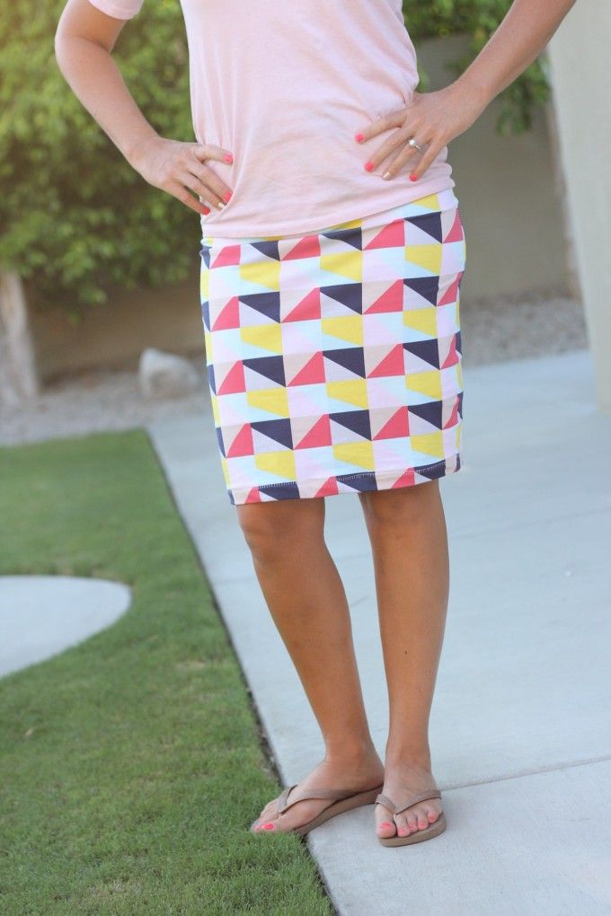 How to sew a pencil skirt video tutorial - Made