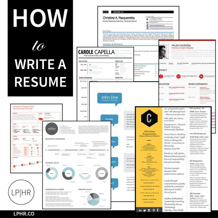 #JobSeekers learn how to write a resume // http://bit.ly/1jxwG11
