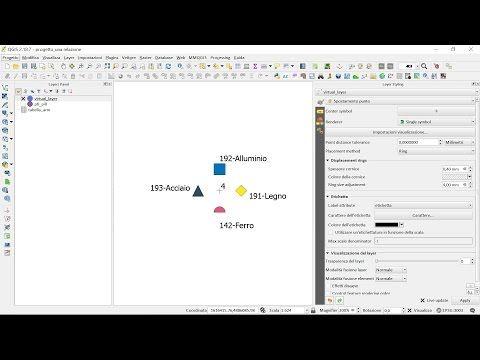 (9) QGIS vestizione punto con diversi simboli - YouTube