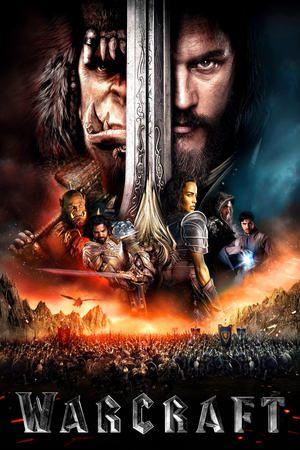 Warcraft (2016)  The peaceful realm of Azeroth stands on the brink of war as its civilization faces a fearsome race of invaders: orc warriors fleeing their dying home to colonize another. As a portal opens to connect the two worlds, one army faces destruction and the other faces extinction. From opposing sides, two heroes are set on a collision course that will decide the fate of their family, their people, and their home.