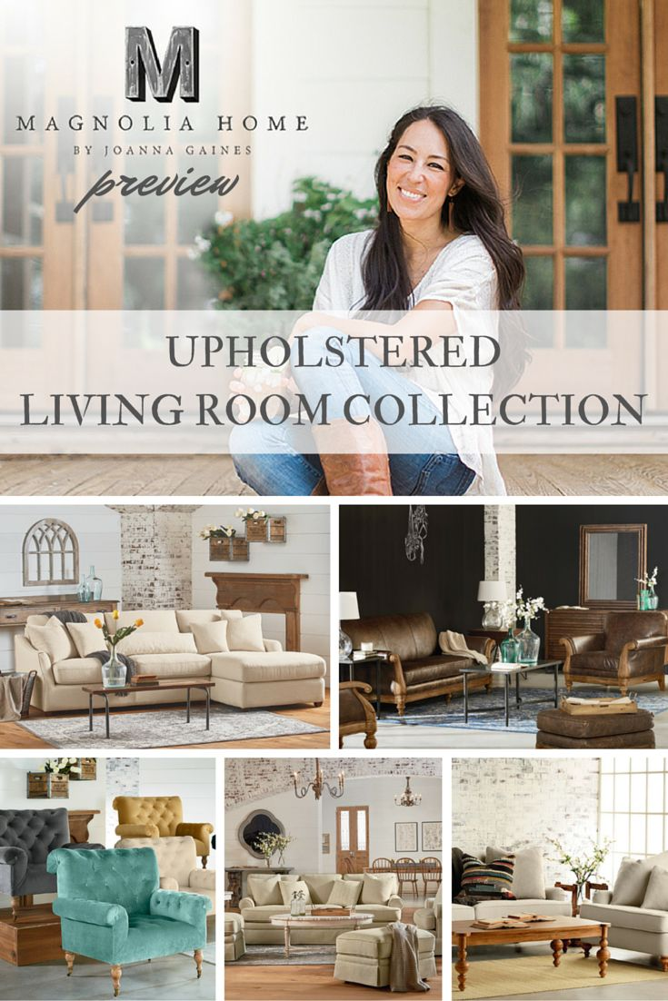 Magnolia Home Preview: Upholstered Living Room Collection