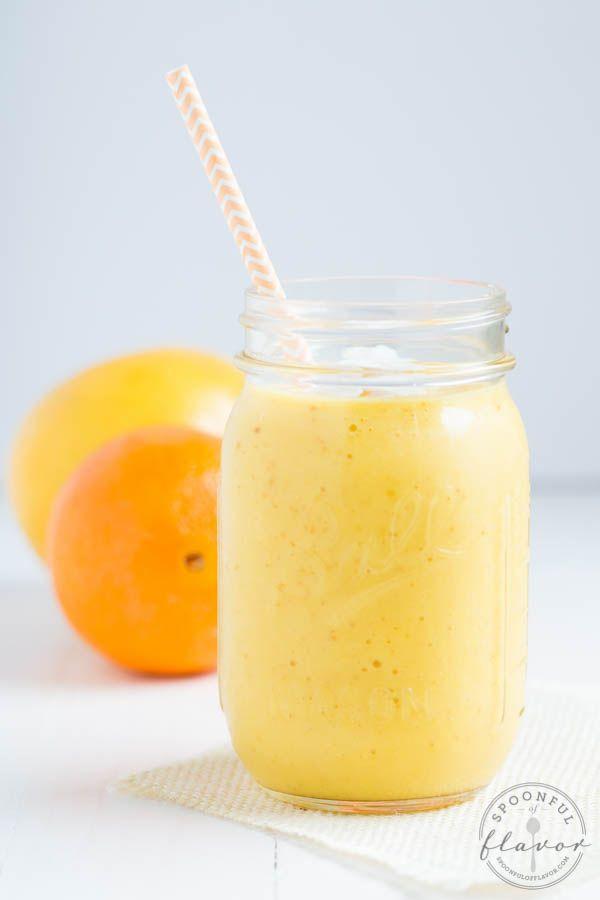 Citrus Sunrise Smoothie