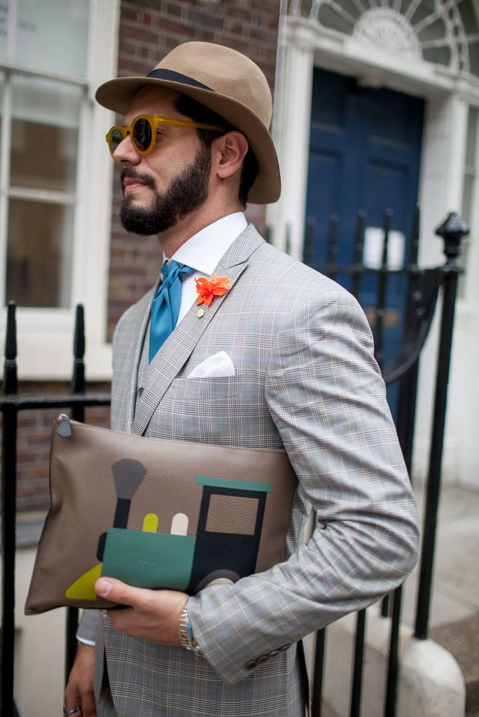 London Men's Fashion Week street style. [Photo: Kuba Dabrowski]