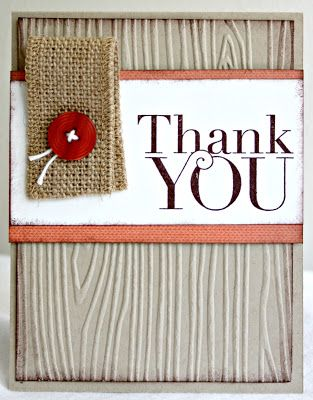 Klompen Stampers (Stampin' Up! Demonstrator Jackie Bolhuis): Masculine Monday: Another Thank You