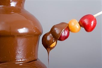 Chocolate Fountain Recipes with Chocolate Chips and carmel recipe