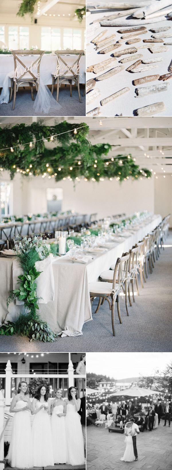 Elegant Coastal Chic Roche Harbor Wedding