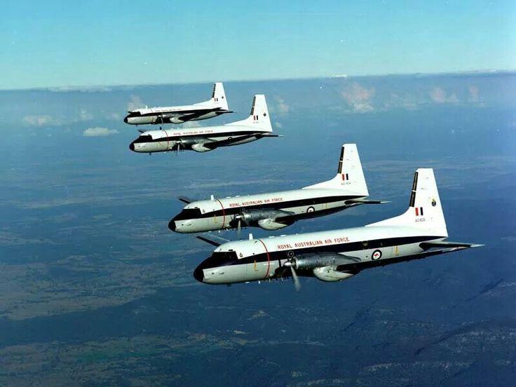 RAAF Hawker Siddeley HS-748 formation
