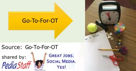 OT Corner: Occupational Therapy Evals in the School – How Do They Work?  - repinned by @PediaStaff – Please Visit ht.ly/63sNtfor all our pediatric therapy pins