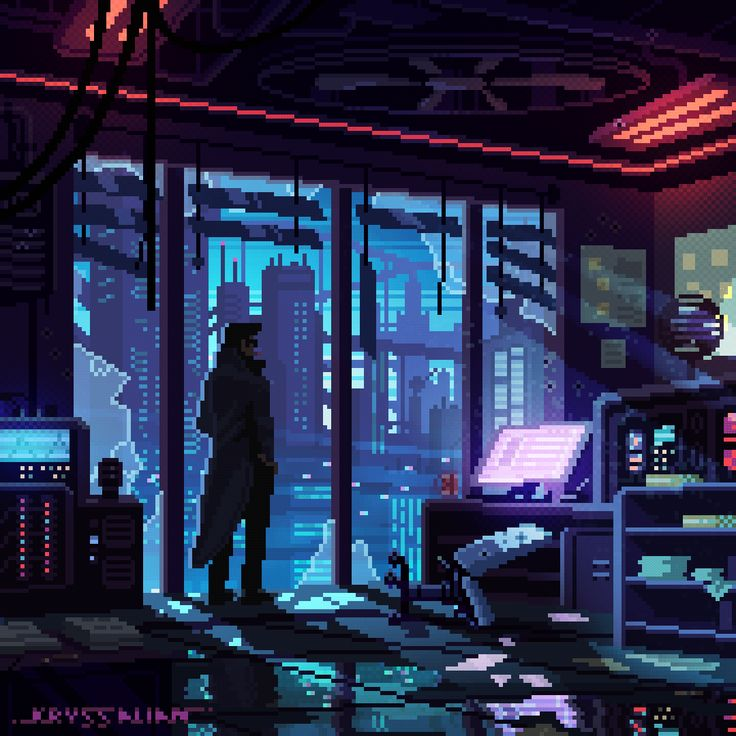 Pin by Zach Hines on Cyberpunk in 2020 Pixel art, What