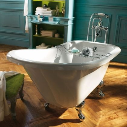 les 25 meilleures id es concernant baignoire sur pattes sur pinterest salle de bains avec. Black Bedroom Furniture Sets. Home Design Ideas