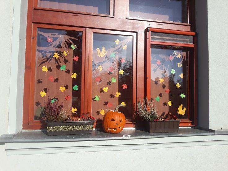 podzimní výzdoba ve školce