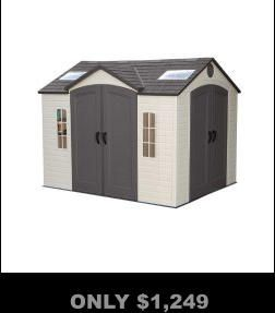 Resin Storage Sheds, Poly Storage Sheds, FREE Shipping, No Interest  Financing, No