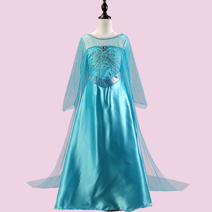 >> Click to Buy << 2017 New Girls Dresses Cosplay Elsa Dress Snow Queen Fever Anna Costume Elsa Princess Dress Party Dresses for toddler clothing #Affiliate