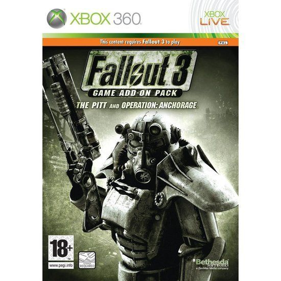 Fallout 3: The Pitt and Operation: Anchorage (Xbox360) add-on  #fallout3 #videogames #xbox360 #dlc #addonpack #thepitandoperation #anchorage