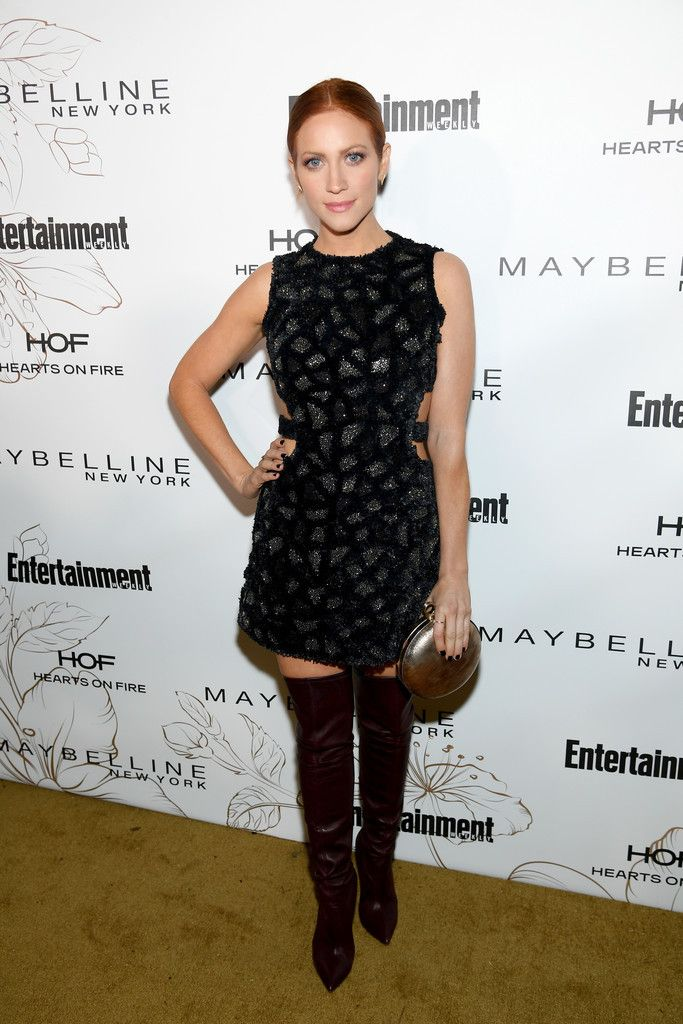 Travelerg Brittany Snow Entertainment Weekly Pre Sag Party Los Angeles With Images Brittany Snow Red Carpet Party Dress Screen Actors Guild Award