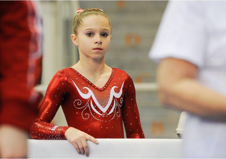 ragan smith gymnastics | Ragan Smith (USA)2015 City of Jesolo Trophy: Junior Floor Exercise ...