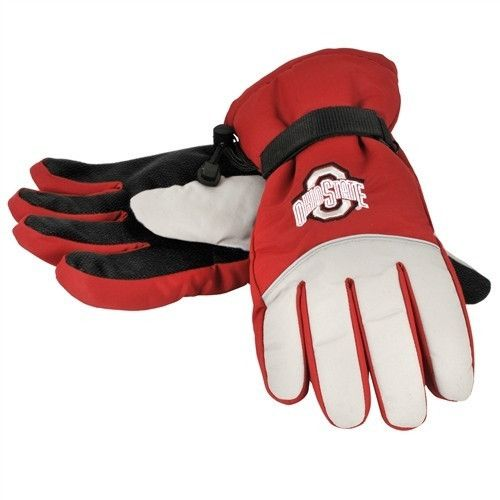 Ohio State Buckeyes High End Insulated Gloves