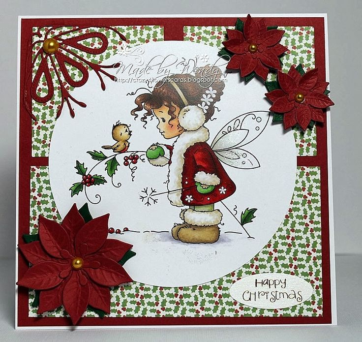 wee stamps winter fairy | items used hobby house wee stamps topper winter fairy dovercraft