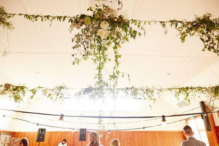 Alex + Tim Wedding Flowers - Audley Dance Hall